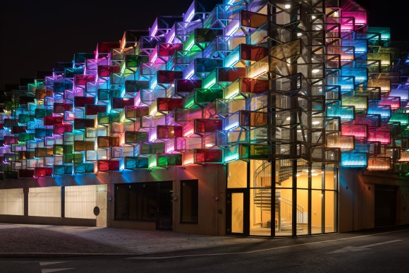 Flustrets P-hus nominerad till Lighting Design Awards